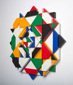 "Recap Matt W. Moore ""Shadovvs"" Solo Exhibition at 886 Geary Gallery Op Art, Three Dimensional, Mosaic Murals, Illusions, Abstract Artwork, Art, Design Milk, Abstract, American Artists"
