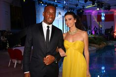 Lorena Baricalla wearing Sheherazade Collection by Pia Mariani Haute Joaillerie  With Didier Drogba @eyesdesignit