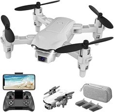 4DRC V9 Mini Drone With 720P HD Camera for kids Foldable FPV WiFi RC Nano Quadcopter Toys Gifts for Boys Girls with Auto Hover,Trajectory Flight/3D Flips/One Key Return/App Control/3 Modular Batteries: Toys & Games Drone Gps, Drone Quadcopter, App Control, Remote Control Toys, Phantom Drone, Drone For Sale, Video Camera, Gifts For Boys, Hold On