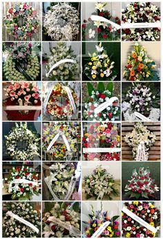 Funeral Flowers, Wedding Flowers, Creative Flower Arrangements, Ribbon Rose, Floral Centerpieces, Album, Weddings, Easy Flower Arrangements, Funeral Flower Arrangements