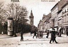 Výsledek obrázku pro praha 19. století Czech Republic, Cities, Street View, Prague, Historia, Bohemia, City