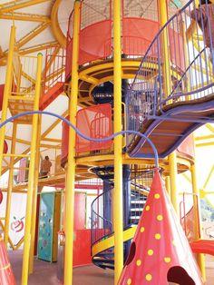 遊具タワー:富谷ドームランド