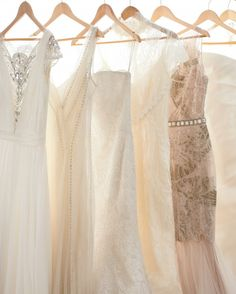 """If your search for the most amazing gown is starting to feel more like an off-the-rails reality show, take a deep breath. Here, the best tips for when to start, whom to bring (hint: maybe not all of your 'maids!), and how to navigate styles, sales, and fittings. Follow our lead, and say """"yes"""" to stress-free shopping."""