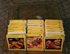 Vintage 1980s MY GREAT RECIPES Cards Storage Box over 800 Recipe cards     eBay