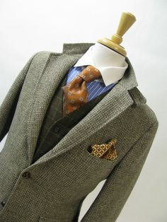 Authentic Donegal tweed classic fit sport coat | Men's sport coats ...