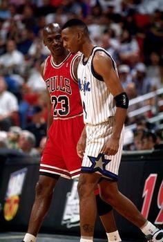 Michael Jordan Chicago Bulls Anfernee Hardaway Orlando Magic