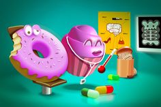Dr Muffin, whats my problem? Italian Words, Muffin, Behance, Illustrations, Creative, Words In Italian, Behavior, Illustration, Muffins
