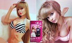 Meet the new 'Human Barbie', 26, whose parents won't let her date #DailyMail | See this & more at: http://twodaysnewstand.weebly.com/mail-onlinecom