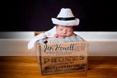 newborn, #newborn photography, newborn in fedora and tie