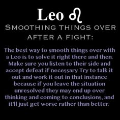 THIS IS SO ME!! I hate fighting with people and if I do I want to resolve as quickly as possible <3