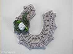 Self-made and unique. With this instruction, you receive A crochet instruction for horseshoes in two sizes; A Crochet instruction for shamrocks *Did you know? A horseshoe has been considered in Double Crochet, Single Crochet, Bad Spirits, Crochet Instructions, Congratulations Card, Lucky Charm, Chain Stitch, Loom Knitting, Bracelet Patterns
