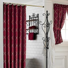 Diamond tuck shower curtain 70x71 for the home - Jcpenney bathroom window curtains ...