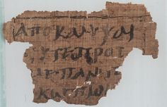 P62 also as ''Papyrus Osloensis'', is a copy of the New Testament and Septuagint in Greek-Coptic. It is a papyrus manuscript of the Gospel of Matthew and Book of Daniel. The manuscript palaeographically has been assigned to the 4th century. The surviving text of Matthew are verses 11:25-30, they are in a fragmentary condition. It contains also fragments of Book of Daniel 3:51-53 and Odae (Papyrus 994 Rahlfs). Survived fragments of 13 leaves.