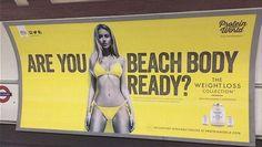 LONDRES. Le maire (Sadiq Khan) interdit les publicités exhibant des «images de corps irréalistes» Tien donc ... ¿?