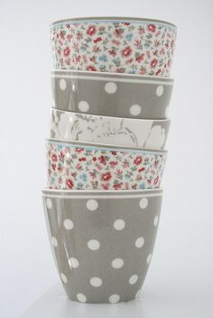 Green gate mugs Coffee Cups, Tea Cups, Latte Cups, Home Goods Decor, Cute Mugs, Mug Cup, Tea Party, Polka Dots, Tableware
