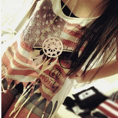 feeling really patriotic for this outfit!!!