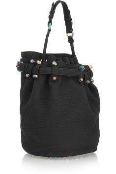 673d84c806 Alexander Wang - Diego textured-leather shoulder bag