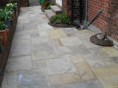 Indian Stone Paving Natural