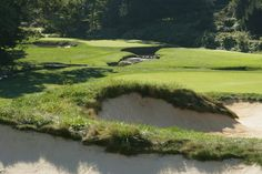 The par-4 11th at Merion Golf Club, where Bobby Jones completed his Grand Slam in 1930.  Merion will be the site of the 2013 US Open.