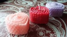 Image result for wax sheets for candle decoration