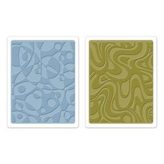 Tim Holtz Sizzix RETRO CIRQUE SET Texture Fades Embossing Folders 657847 Preview Image