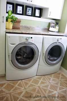 From New House to Home: Laundry Room Reveal