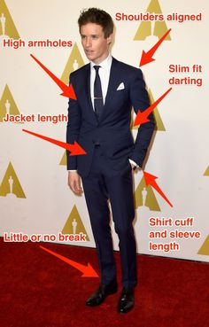 Get a suit that fits you well -- Let us show you how.