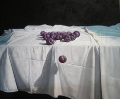 SERIE RETENIENDO EL TIEMPO- CIRUELAS, óleo sobre lienzo de 100 x 120 y bastidor de 3,50 cm.