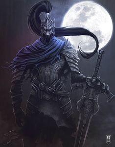 Artorias the Abyss Walker, Remi Abrahams on ArtStation at https://www.artstation.com/artwork/rrdzG
