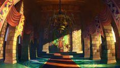 King Edmund's Court - Odin Sphere - BG art