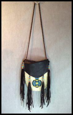 Vintage Native American Indian Art Bag Purse by IveGoneModVintage, $82.00