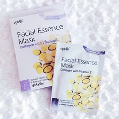 Collagen with Vitamin E Facial Essence Mask by Epielle!