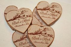 Wedding Favor Wood Custom Save the date made to order Beer Wedding, Wedding Pins, Wedding Favours, Wedding Stationery, Wedding Details, Fall Wedding, Wedding Invitations, Dream Wedding, Wedding Decor