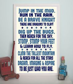 What ALL boys should do..... Absolutely love this for my three Dragon Slayers! :)