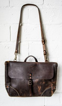 Look for more messenger bags at www.leathermessengerbags.top  Stanley and Sons Leather Postal Messenger
