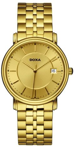 Doxa 221.30.301.11 Gold Watch, 30th, Watches, Accessories, Clocks, Clock, Ornament
