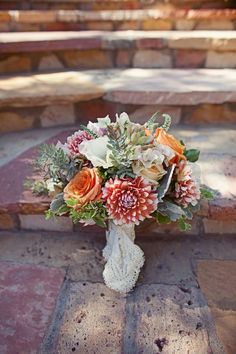 every bride should get to have several different bouquets. this would be one of mine