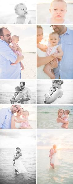 Beach Photographer in Santa Rosa Beach | Water and Light | Beach Photo Inspiration| Family Posing| Dreamy beach photos | Beach Baby Photography | Candid | Lifestyle Family Beach Session © Nichole Burnett Photography