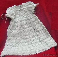 christening gown free crochet patterns-Free Crochet Christening Dress & Christening Gown Patterns