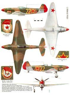 Yakovlev Yak-9D flown by M. V. Avdyeyev during operation over Sevastopol, Crimea in May 1944.