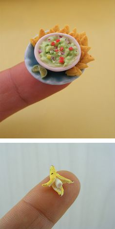 Miniature Meals : Fantastic clay replicas of food at 1:12 scale by Israeli artist Shay Aarron. | Inspiration Grid | Design Inspiration