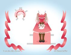 Paper Doll School: December Angel Paper Doll - Day 5