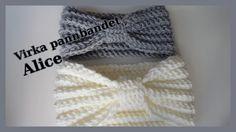Free Crochet, Knit Crochet, Crochet Hats, Baby Knitting Patterns, Crochet Patterns, Arm Work, Knitted Animals, Headband Pattern, Textiles