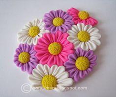 Cute Polymer Clay Ideas | Polymer Clay Flower Pendant Tutorial