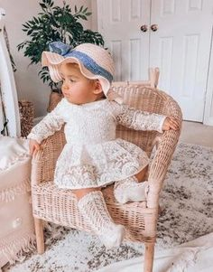 Stacy Lynn Ivory Lace Romper Understated and elegant this long-sleeved lace skirted romper is an heirloom dream! Baby Girl First Birthday, First Birthday Outfits, Romper With Skirt, Lace Romper, Cake Smash Outfit Girl, Ruffles, Baby Girl Newborn, Vintage Lace, Baby Wearing