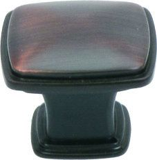 View the Jamison Collection K81091 Square Rounded Corner Zinc Cabinet Knob 32mm at FaucetDirect.com.