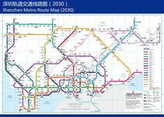 Shenzhen metro map深圳地铁地图 (Shēnzhèn dìtiě dìtú) China Facts, Metro Map, Chinese Culture, Shenzhen, Travel Destinations, Teaching, Check, Road Trip Destinations, Destinations