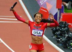 Sonya Richards Ross Olympic Gold medalist