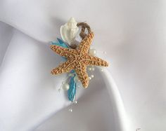 Étoile de mer poignet corsage ensemble ensemble de par UptownGirlzz