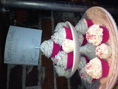 Cupcake bath bombs! How fun!